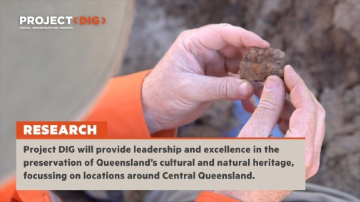 Project DIG – Queensland Museum and BHP Partnership