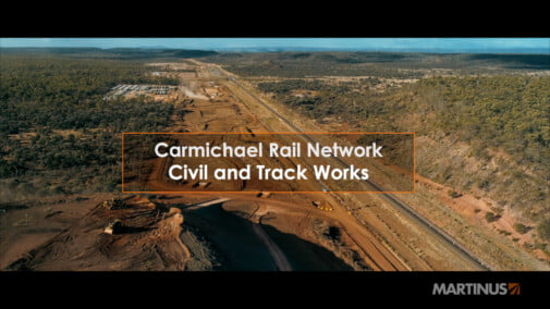 Martinus – Carmichael Rail Network – Civil and Track Works