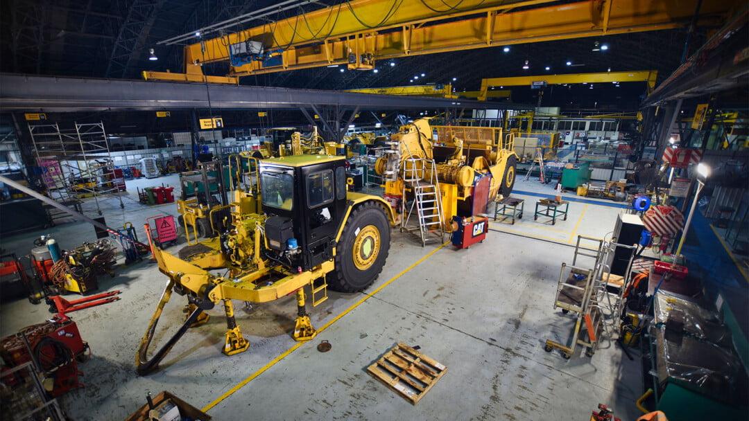 Hastings Deering: Cat Certified Powertrain Rebuild on a 657G Scraper