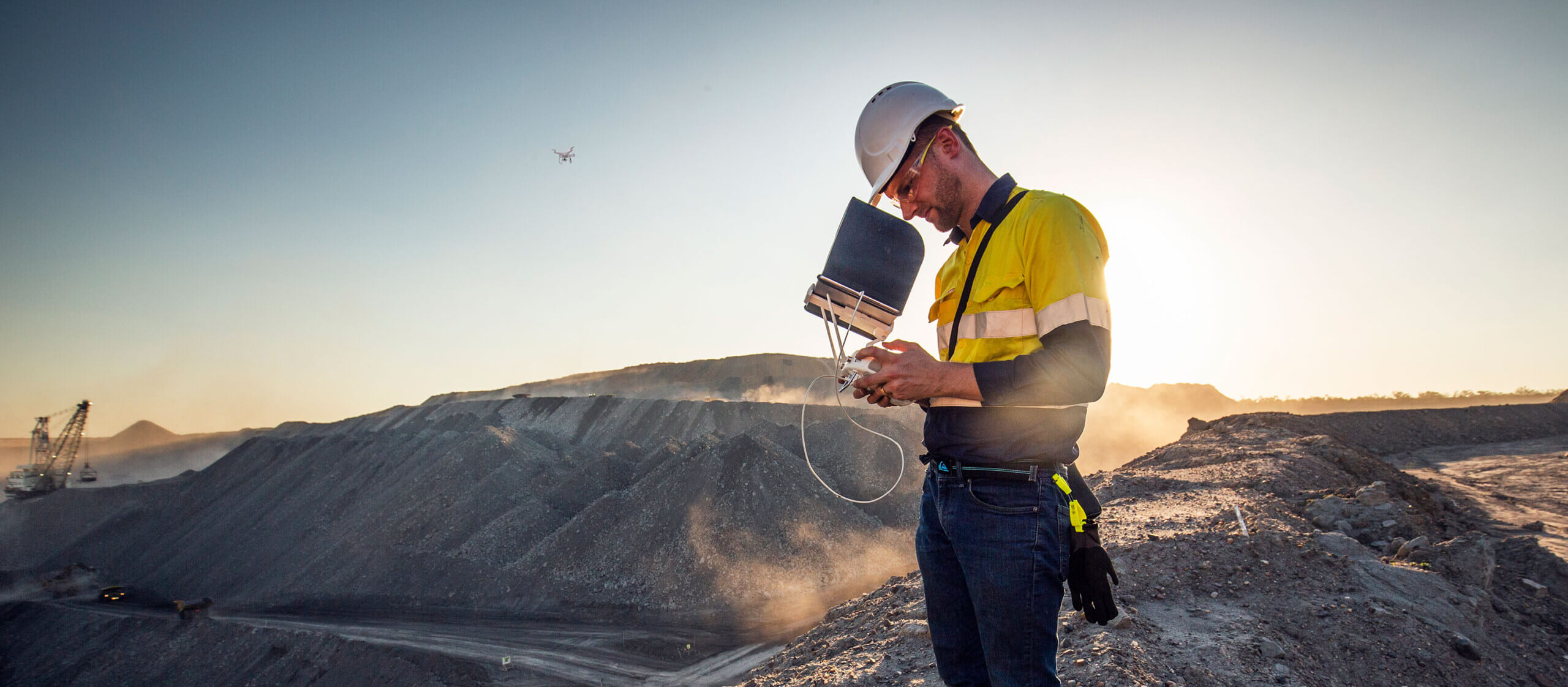 ED - drone operations at coal mine